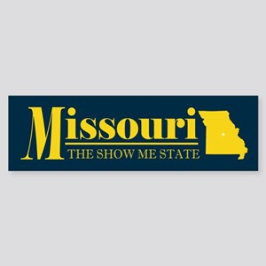 Missouri Gold Sticker (Bumper)